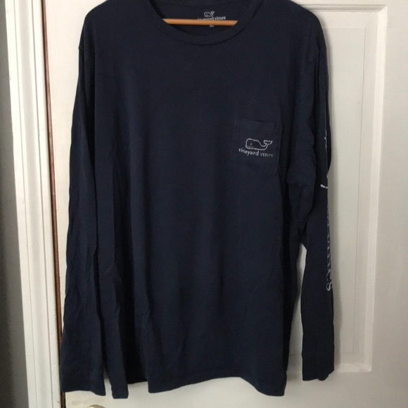e0e7cd63b Vineyard Vines Shirts | Logo Whale Mens Long Sleeve Xl | Poshmark